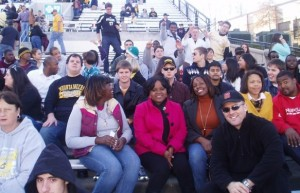 UNCASG folks at the ASU-WCU football game in Boone