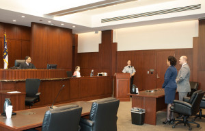 Me introducing Madame President to the Court (Photo courtesy of Shutterbug)
